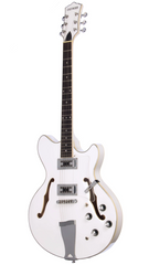 Eastwood Guitars Savannah White Angled