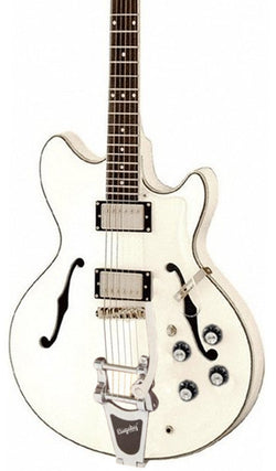 Eastwood Guitars Savannah DLX White Featured