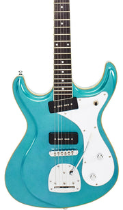 Eastwood Guitars Sidejack DLX Metallic Blue