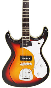 Eastwood Guitars Sidejack DLX Sunburst