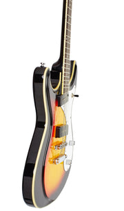 Eastwood Guitars Sidejack 12 Sunburst Player POV