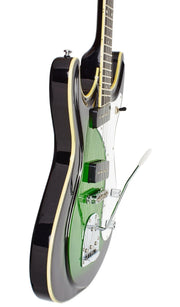 Eastwood Guitars Sidejack DLX Greenburst Player POV