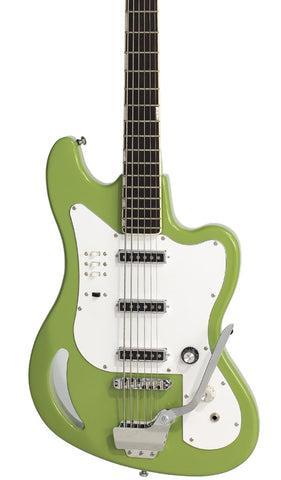 Eastwood Guitars TB64 Vintage Mint Green Featured