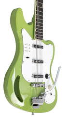 Eastwood Guitars TB64 Vintage Mint Green Player POV