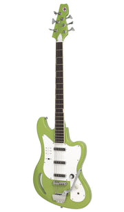 Eastwood Guitars TB64 Vintage Mint Green Angled