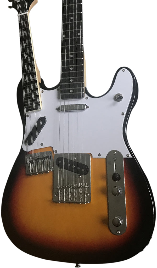 Eastwood Guitars Eastwood Teleolin Sunburst Featured