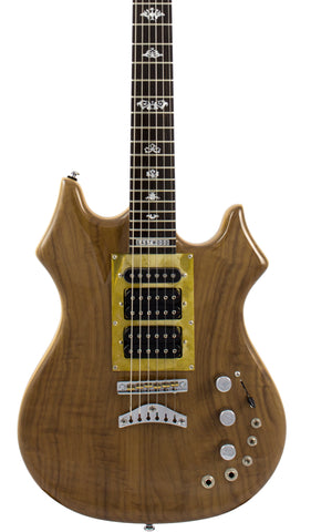 Eastwood Guitars Eastwood Tiger Guitar Walnut Featured