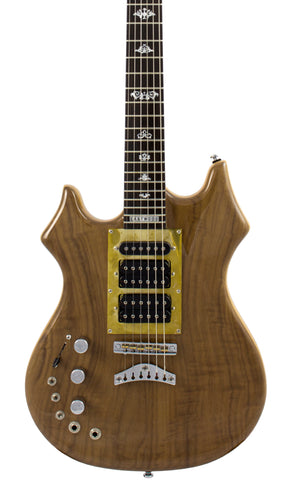 Eastwood Guitars Eastwood Tiger Guitar LH Walnut Featured