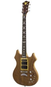 Eastwood Guitars Eastwood Tiger Guitar Walnut Angled