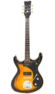 Eastwood Guitars Sidejack DLX Tobacco Burst Full Front