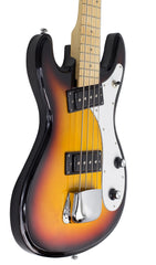 Eastwood Guitars Univox Bass Sunburst Player POV