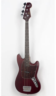 Eastwood Guitars Warren Ellis Bass Dark Cherry Angled