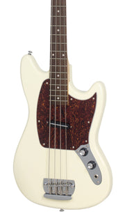 Eastwood Guitars Warren Ellis Bass Vintage Cream Featured