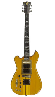 Eastwood Guitars Eastwood Wolf Guitar LH Natural Maple Angled