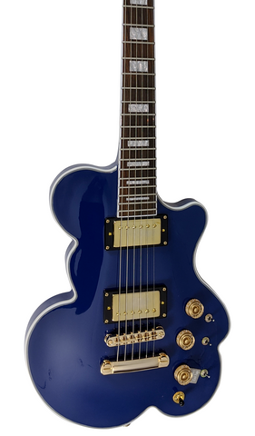 Eastwood Guitars DEVO Cloud Guitar Blue Featured