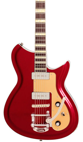 Eastwood Guitars Rivolta Combinata XVIIB Rosso Red Featured