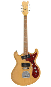 Eastwood Guitars Sidejack Pro JM Natural Angled