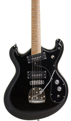 Eastwood Guitars Sidejack Pro JM Black