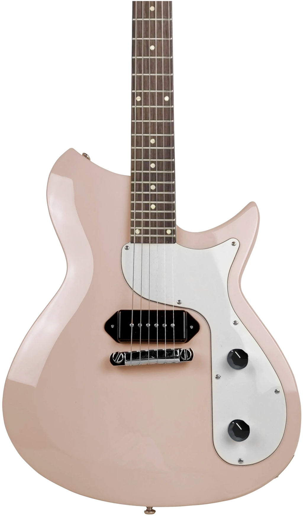 Eastwood Guitars Rivolta Combinata I Colomba White Full Back