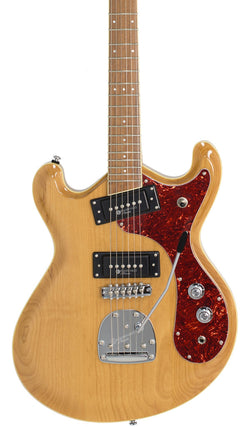 Eastwood Guitars Sidejack Pro JM Natural Featured