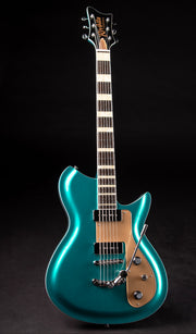 Eastwood Guitars Rivolta Combinata XVII Adriatic Blue Metallic Full Front