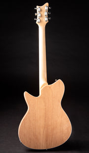 Eastwood Guitars Rivolta Combinata Acero Glow Full Back