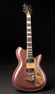 Eastwood Guitars Rivolta Combinata XVII Burgundy Mist Metallic Full Front