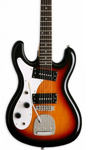 Eastwood Guitars Hi Flyer Phase 4 Sunburst LH Featured