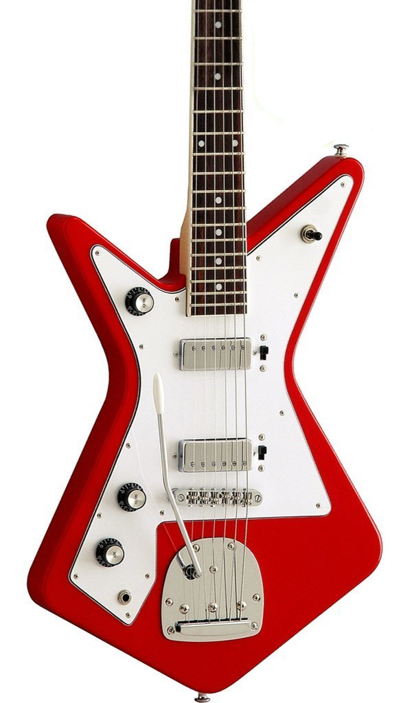 Eastwood Guitars Eastwood Gemini Red LH Featured