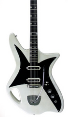 Eastwood Guitars Eastwood Telstar Pearl White Featured