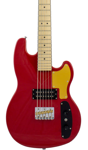 Eastwood Guitars Hooky Bass 6 PRO Red Featured