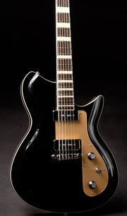Eastwood Guitars Rivolta Combinata Toro Black