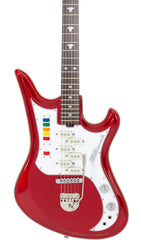 Eastwood Guitars Spectrum 5 PRO Metallic Red