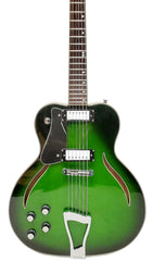 Eastwood Guitars Messenger Trans Green