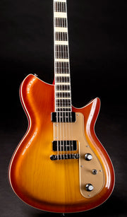 Eastwood Guitars Rivolta Combinata Autunno Burst