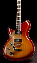 Eastwood Guitars Rivolta Combinata DLX Autunno Burst LH