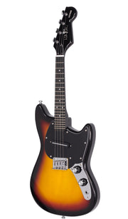 Eastwood Guitars Warren Ellis Mandostang Sunburst Angled