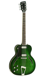 Eastwood Guitars Messenger LH Trans Green