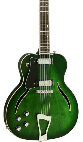 Eastwood Guitars Messenger Trans Green Featured
