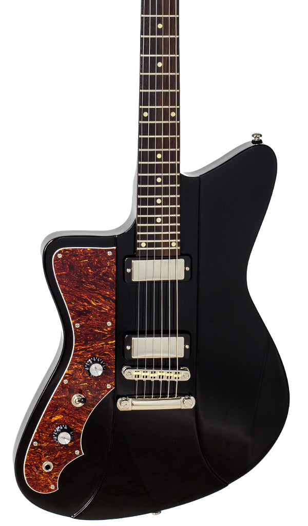 Eastwood Guitars Rivolta Mondata II LH Toro Black Featured