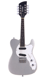 Eastwood Guitars Mandocaster Sonic Silver Full Front