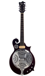 Eastwood Guitars MRG Resonator Walnut Full Front