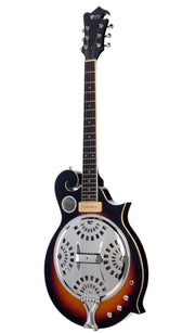 Eastwood Guitars MRG Resonator Sunburst Angled