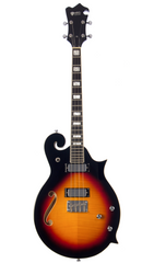 Eastwood Guitars MRG Tenor Sunburst Full Front