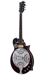 Eastwood Guitars MRG Resonator Walnut Angled