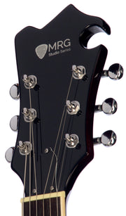 Eastwood Guitars MRG Resonator Walnut Head Stock