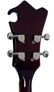 Eastwood Guitars Eastwood MRG Ukulele Walnut Head Back