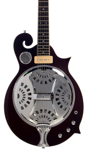 Eastwood Guitars MRG Resonator Walnut Featured