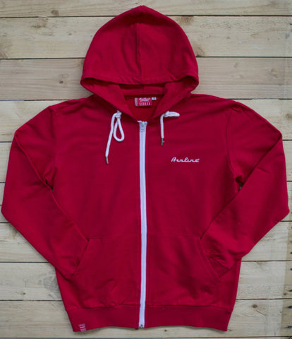 Eastwood Guitars Airline Zip Hoody Red Featured