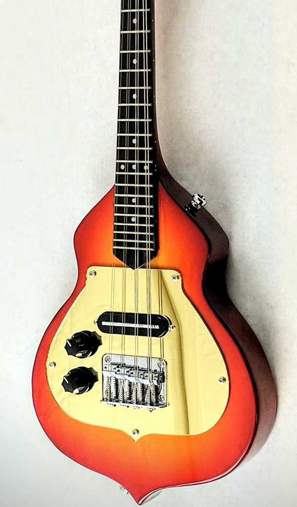 Eastwood Guitars Ricky Mandolin Cherryburst LH Featured